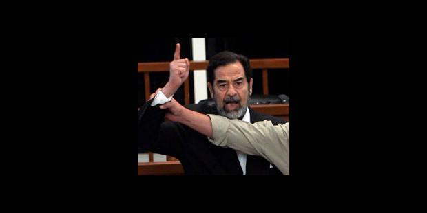 Saddam Hussein sera exécuté dans les 30 jours - La DH
