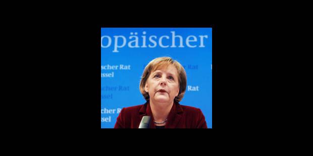 Angela, l'espoir de l'Europe UE - La DH