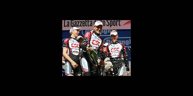 Basso et CSC remportent le contre-la-montre