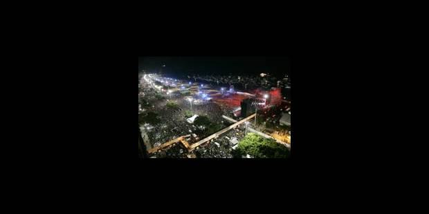 Un millions de spectateurs devant les Stones à Rio - La DH