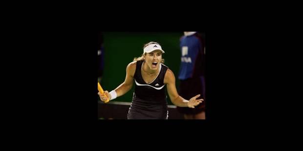 Clijsters/Hingis en quart de finale - La DH