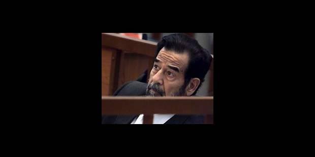 Ajournement du procès de Saddam Hussein - La DH