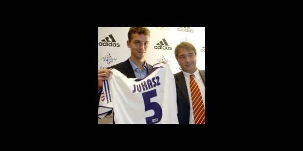 Le Hongrois Juhasz à Anderlecht - La DH