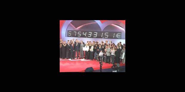 6.753.831 euros pour le Télévie 2005! - La DH