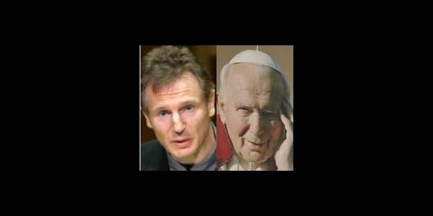 Liam Neeson sera Jean-Paul II - La DH
