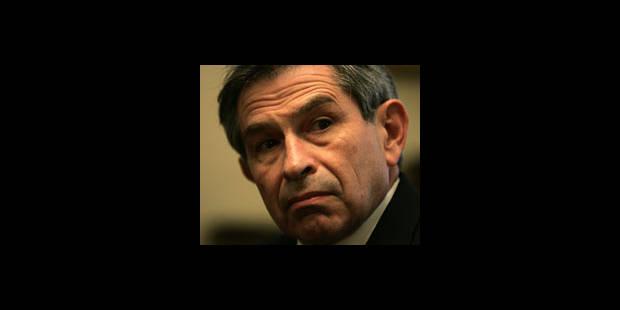 Bush impose le faucon Wolfowitz - La DH