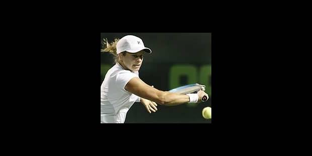 Kim Clijsters en 1/2 à Key Biscayne - La DH