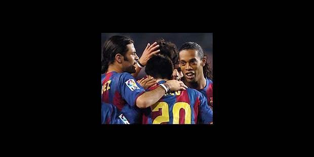 Le Barça revient de loin, Lyon au sommet - La DH