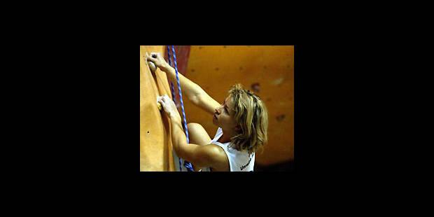 Escalade -  Un objectif clair pour Muriel Sarkany - La DH