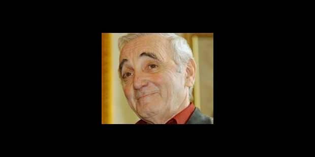 Aznavour plus jeune que jamais - La DH