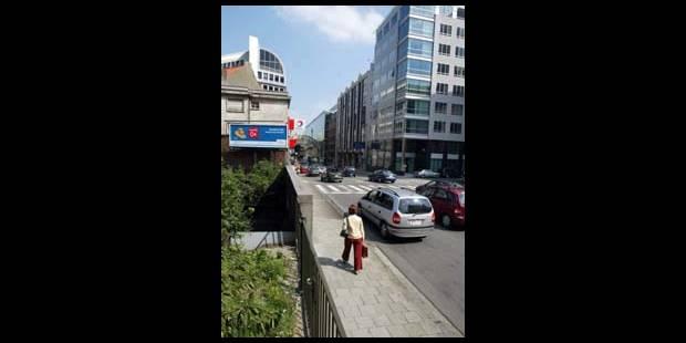 La rue Belliard en chantier - La DH