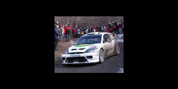 Rallye de Monte-Carlo - François Duval sans banane - La DH