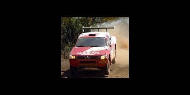 Dakar 2004 - 13e étape: victoire de McRae (Nissan) en auto