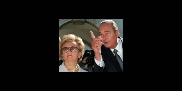Chirac aurait aussi fauté