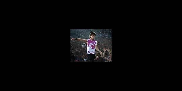 Les <i>Rolling  Stones</i>: 22h20 à Werchter...