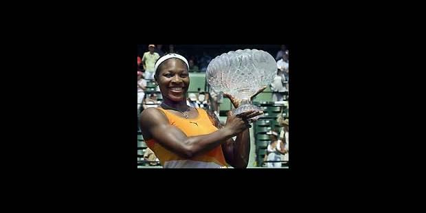 WTA de Miami: trop forte, Serena! - La DH