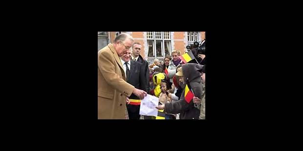 Grande fête pour Albert II - La DH