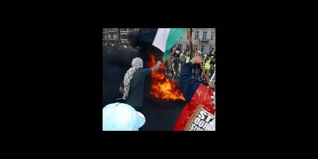 Une manif tendue à Bruxelles - La DH