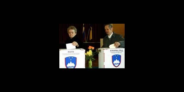 La Slovénie a dit oui à l'Europe - La DH