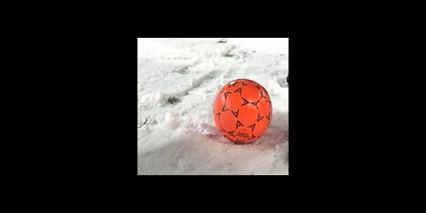 Le foot en vacances de... neige - La DH
