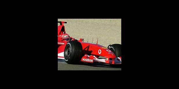 Cinq  F1 ce week-end à Liège - La DH