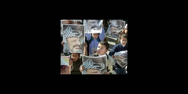Environ 70.000 Palestiniens manifestent à Gaza pour l'anniversaire du Fatah - La DH