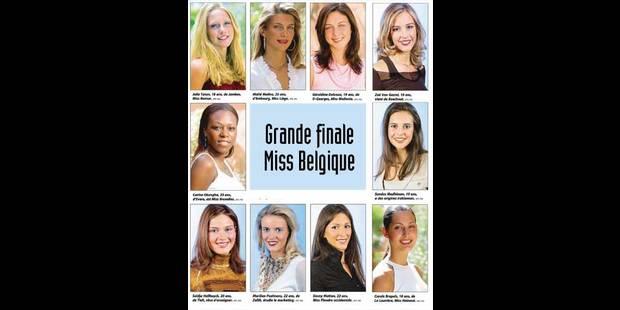 Miss Belgique: les Wallonnes sont favorites! - La DH