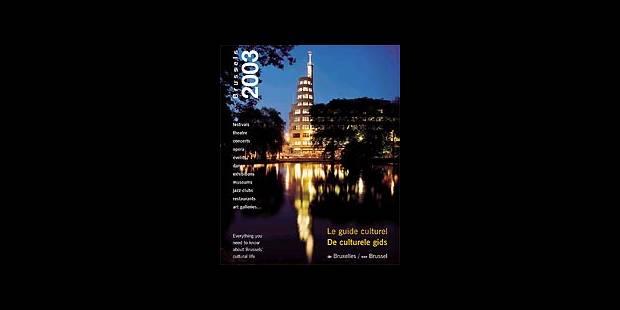 Le guide culturel de Bruxelles 2003 ! - La DH