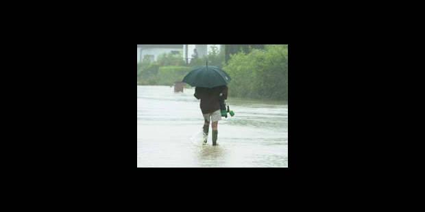 De fortes pluies s'abattent sur la région wallonne - La DH