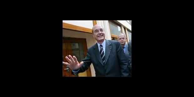 Elections françaises: tous unis derrière Chirac - La DH