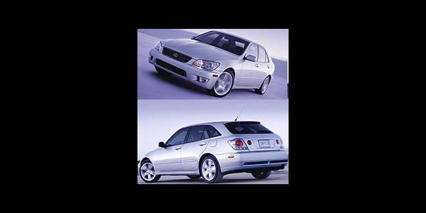 Les cotes de la DH - Lexus IS 300 SportCross - La DH