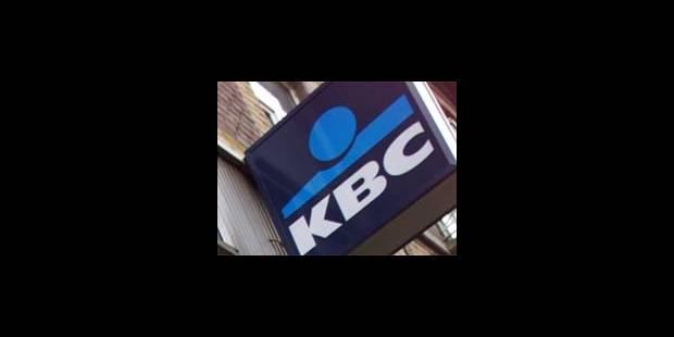 Risques d'inondation: la KBC se jette à l'eau - La DH