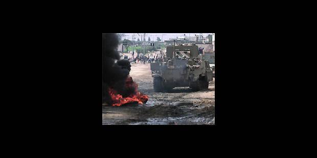 Proche-Orient: les tanks reprennent position dans la bande de Gaza - La DH