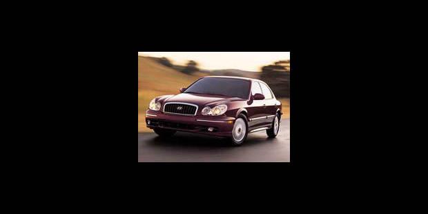 Les cotes de la DH - Hyundai Sonata 2.0i 16v GLSi - La DH