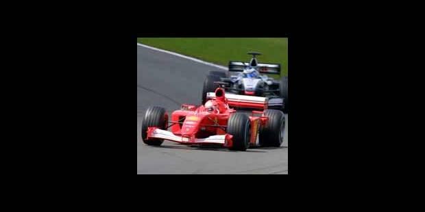 Violente sortie de piste à Monza pour Michael Schumacher - La DH