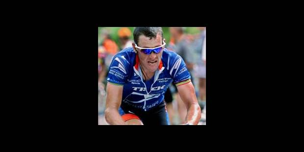 Lance Armstrong persiste !