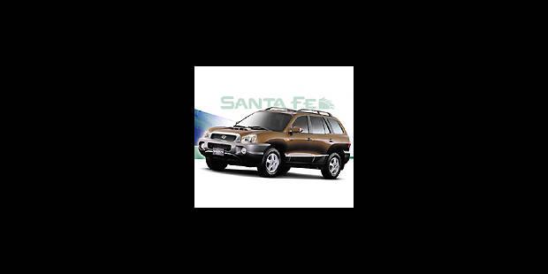 Les cotes de la DH - Hyundai Santa Fé 2.4 GLSi - La DH