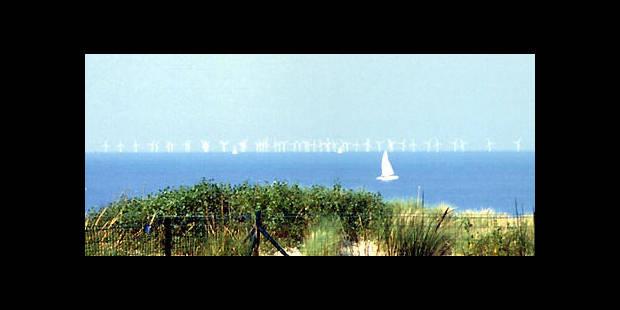 100 éoliennes en mer