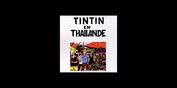 650 faux Tintin saisis - La DH