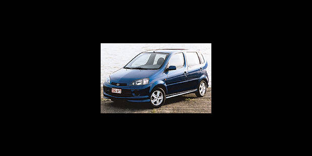 Les cotes de la DH - Daihatsu YRV SXE - La DH