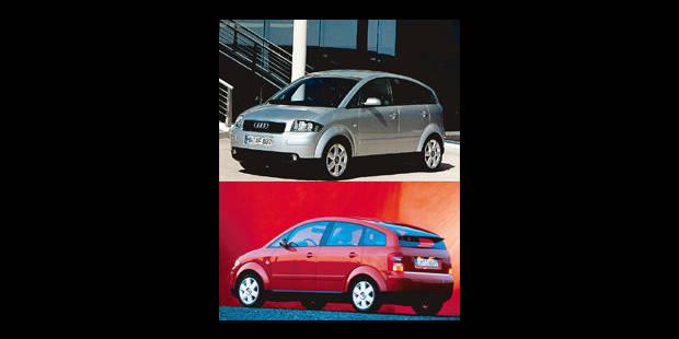 Les cotes de la DH - Audi A2 1.4