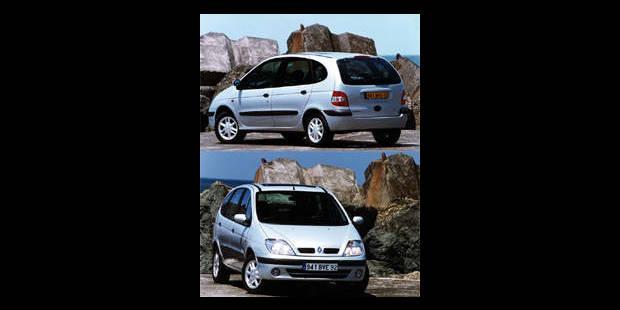 Les cotes de la DH - Renault Scénic RXE dCI - La DH