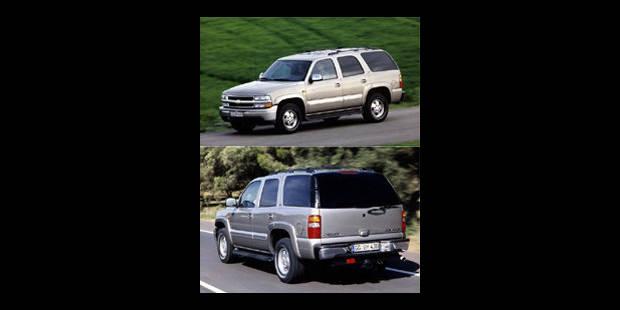 Les cotes de la DH - Chevrolet New Tahoe - La DH