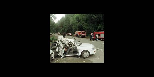 Un jeune couple spadois tué par une terrible collision - La DH