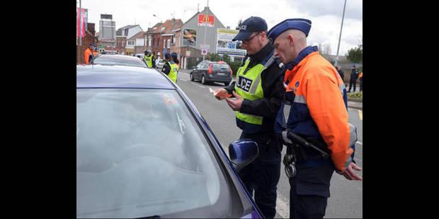 Important contrôle de police sur les routes la nuit dernière - La DH