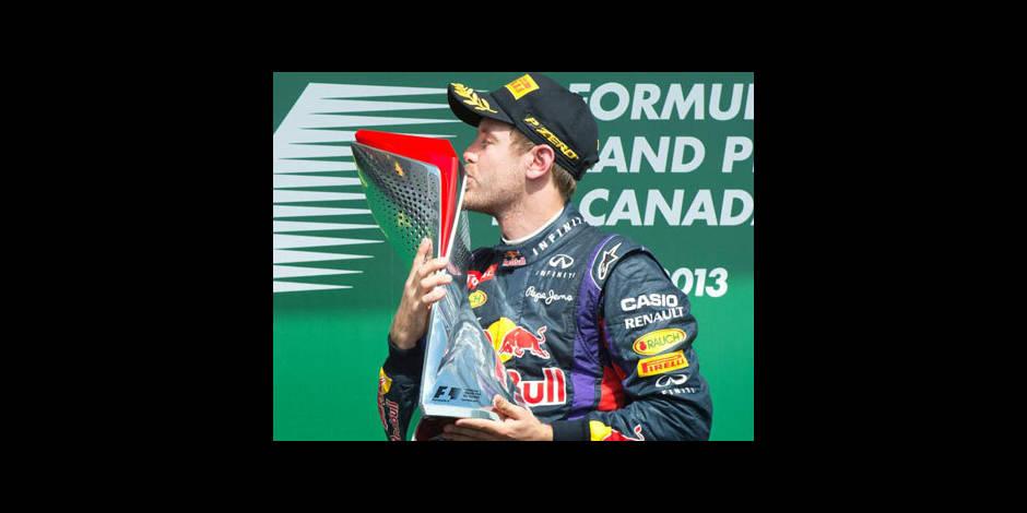 Vettel vainqueur du Grand Prix du Canada