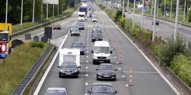 Accident à Zemst: la bretelle entre le Ring de Bruxelles et l'E19 est fermée - La DH