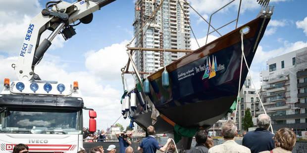 8 ans pour construire un voilier - La DH