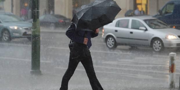 Risque de pluie durant tout le week-end - La DH