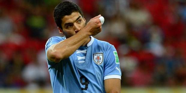 Luis Suarez, meilleur buteur de l'histoire de l'Uruguay - La DH